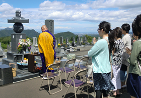 永代供養墓合同慰霊祭